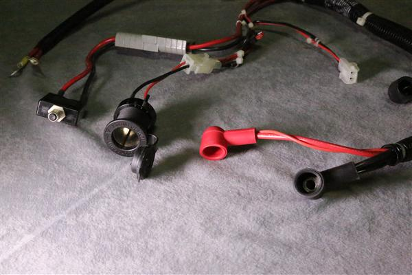 12V Harness Assembly 7 wire harness assemblies custom electromechanical manufacturing Wire Harness Assembly at creativeand.co